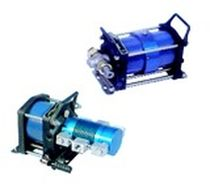air driven gas booster compressor max. 90 000 psi OLAER INDUSTRIES