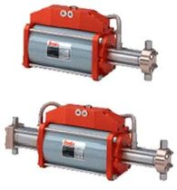 air driven high pressure gas booster compressor max. 1 245 bar | B160, B200 series RESATO High pressure technology