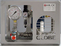 air driven pressure test unit 0.58 - 14 l/min, max. 26 - 2 410 bar | APU series Globe