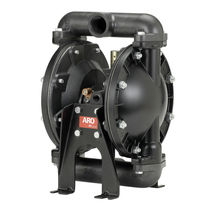 "air operated double compact diaphragm pump 1"", 35 gpm 