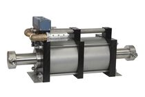 air operated high pressure piston pump max. 3.000 bar (43.500 psi), max. 25,5 l/min | GPD..-2 serie Maximator GmbH