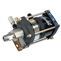 air operated liquid piston pump max. 5 gpm (15 l/min)  Haskel International