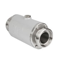 air operated pinch valve with threaded spigot connection (RJT connection) DIN 11851 AKO ARMATUREN