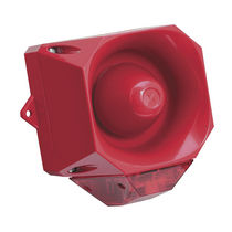 alarm siren with lighted signal 110-112 dB(A), IP66 | AXL05 FHF Funke Huster Fernsig