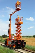 all terrain road-rail boom lift X6  UNAC