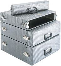 "aluminum 19"" rack case StratoRack CP Cases"