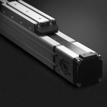 aluminum motorized linear guide  Romani Components Srl