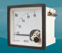 analog frequency counter max. 500 V, 45 - 440 Hz | E242-41S - E244-41S series Crompton Instruments