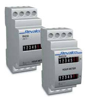 analog hour meter: DIN-rail mounted max. 99 999.99 h | 1RH series Revalco