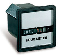 analog hour meter: panel mount  PERRY ELECTRIC