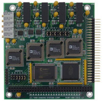analog output module Ruby-MM-412/812/1612  Diamond Systems