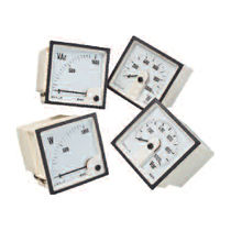 analog power meter 63.5 - 440 V, 1 - 5 A | E244 series Crompton Instruments