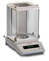 analytical balance with internal calibration XR series BIZERBA