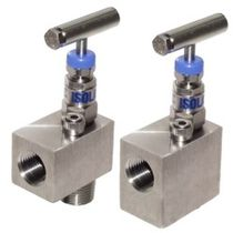 "angle needle valve 1/4"" - 1"", 10 000 psi 