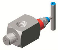 angle needle valve 400 bar | B1 Stewart-Buchanan Gauges