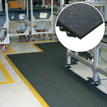 anti-fatigue rubber mat 16 mm | Solid Fatigue-Step COBA Plastics Ltd