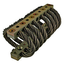 anti-vibration mount : wire rope isolator  Advanced Antivibration Components