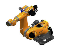 Articulated robot / 6-axis / for press automation
