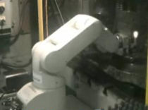 articulated robot for press automation  AB Controls, Inc.