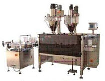 auger filler for powders / granulates (automatic) 100 - 2 000 g | DCS-2B-3 American Packaging & Plant Equipment
