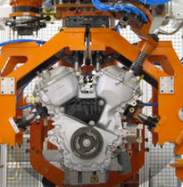 automated test system  COMAU S.p.A. - Powertrain Systems