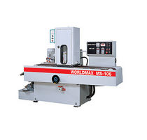 automatic belt grinding machine for metal 130 x 8&quot; | MS-106 Worldmax - Sheng Feng Machine