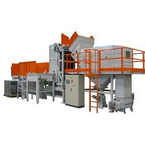 automatic bulk bag unloader with depalletizer max. 300 p/h, 25 - 50 kg | SVR 300 COMAV