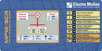 automatic control panel for generator sets MP12-SCR ELECTRA MOLINS