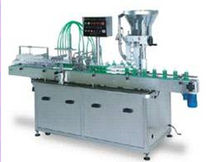 automatic filler and capper for liquids 60 p/min | KDL-950 sharppack machines