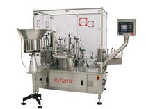 automatic filler / capper / labeler for solids max. 60 p/min | Patriot� Capmatic