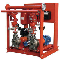 automatic fire fighting unit max. 312.00 m3/h, UNI EN 12845 | FFS-FFBE series EBARA PUMPS EUROPE