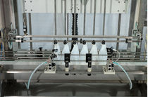 automatic linear filler for liquids 1 800 p/h, 200 - 5 000 cc | LIN 6 CS Marin G. & C.