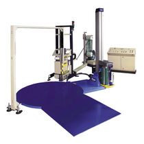 automatic pallet strapping machine / stretch wrapper TwinPack Cyklop