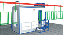 automatic powder coating booth Euro 8-12 PM14-22 Eurotherm
