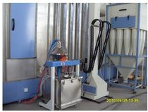 automatic powder coating line  hangzhou color powder coating equipment  ltd