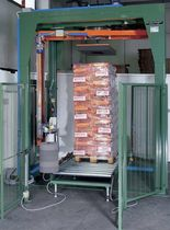 automatic rotary arm stretch wrapper 60 - 80 p/min | WRAP PALLET series Sotemapack