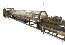 automatic sleeve wrapping machine with shrink tunnel max. 80 cycles/min | 90� series Brenton Engineering