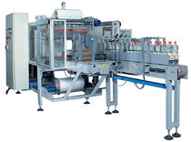 automatic sleeve wrapping machine with shrink tunnel 6 - 7 p/min | PAR PRG series Sotemapack