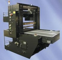 "automatic sleeve wrapping machine (with heat shrink film) 50"" x 22"" 