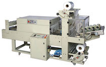 automatic sleeve wrapping machine (with heat shrink film) max. 20 p/min | BMD-750B Ruian Huadong Packing Machinery Co