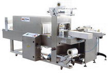 automatic sleeve wrapping machine (with heat shrink film) 5 - 15 p/min | AT-501  Suzhou Atape machinery