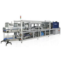 automatic sleeve wrapping machine with sealing bar max. 20 p/min | Laser Robopac - Dimac
