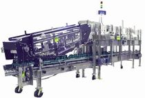 automatic top load case packer for bottles 2650 series Hartness International