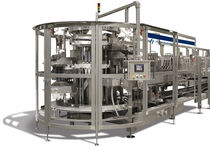 automatic top load case packer for bottles max. 60 p/min | 3500 GlobalPack Hartness International