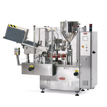 automatic tube filler and sealer max. 4 400 p/h, 2623 x 1120 x 2200 mm | S400 TGM - TECNOMACHINES srl
