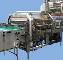 automatic sleeve wrapping machine for ice cream line AMI Gram Equipment