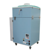 bag dust collector : mechanical shaker SKV-900AT-HC-V1-CE CHIKO AIRTEC