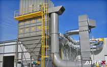 bag dust collector : pulse jet TR, TRP series AIREX Industries