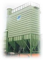 bag dust collector : reverse air 20 000 - 200 000 m³/h | STFOPZ Handte Umwelttechnik