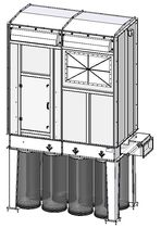 bag dust collector : reverse air  STIVENT Industrie